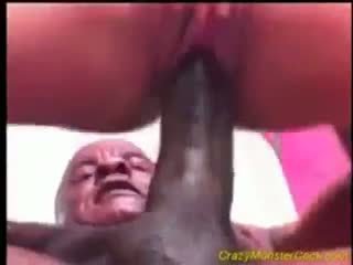 Babe Gets Crazy Monster-Cock