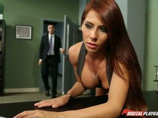 big tits best, redheads, more office more