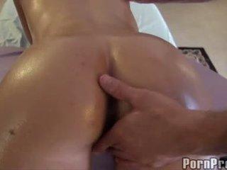 Rebecca Linares Licking The Dickhead Of Horny Boy