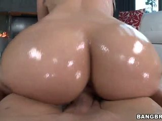 Perfect white ass on Anikka Albrite