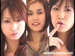 Ασιάτης/ισσα κορίτσια swallowing semen