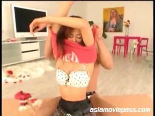 Asian Teen Engulfing Ramrods