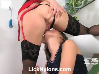 Joanna And Grace Pantyhose Lesbo Sex Process