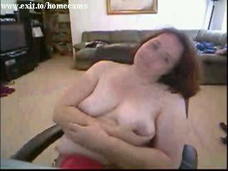 Mature BBW Marika Alone At home Video