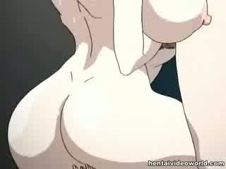 Loads του hentai σφηνάκι χύσι χύστε έξω του αυτήν και οι δύο holes