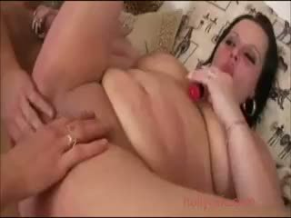 Plump Girl Getting Fucked By A Long Sausage