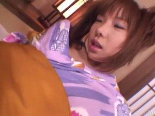 Japanese slut serina's creampie