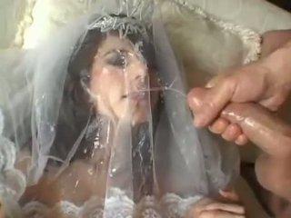 ホット 花嫁 jackie ashe takes a 最大の と 乱雑な フェイシャル cumsplash