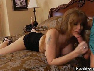 Mommy teasing her son's friend