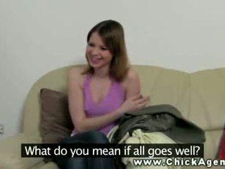 Chick casting agent seduces model