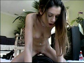 brunette porn, vibrator porn, orgasm porn, cum porn