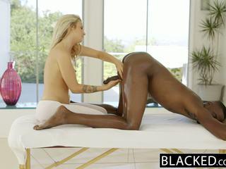 Blacked ayna bira karla kush loves massaging bbc