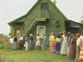 Dojrzała kobiety pieprzenie w the kraj