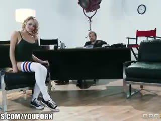 Hajlékony szőke dancer mia malkova shows ki neki assets mert egy szerep