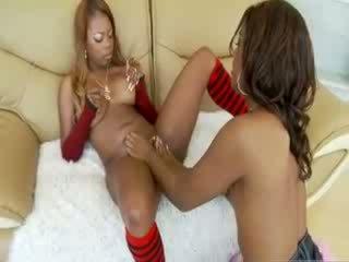 Pornstar black sexy lesbians scene