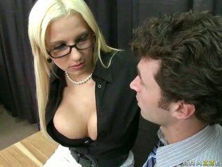 blowjob, glasses, skirt