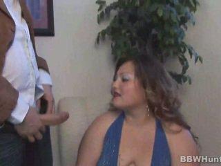脂肪 女孩 gets nailed 很好