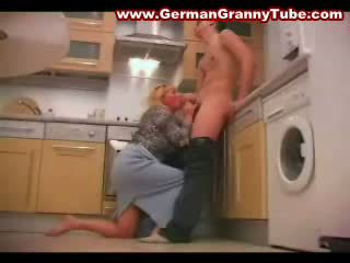 Blonde Bbw Mature Mother And Son Fucking