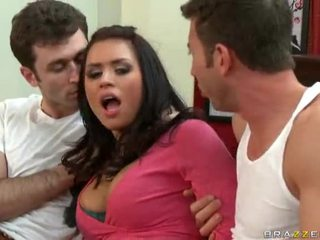 Eva angelina gets dped da jordan ash e james deen