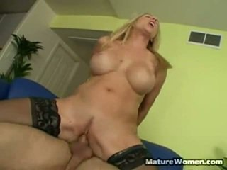 Blonde Slut Angela Attison Is Despised By Most Of Her Employees, Despite Her Porno Star Quality Hot Looks And Very Big Fake Boobs.  She's A Real Nymph Of A Boss, Consistently Criticizing Her Emplo