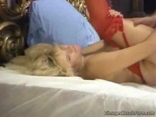 retro porn, vintage sex, retro sex, riding cock hard