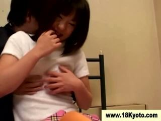 Giapponese sporco giovanissima studentessa video