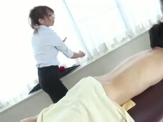 Naughty japanese anna mizukawa sucking hairy cock