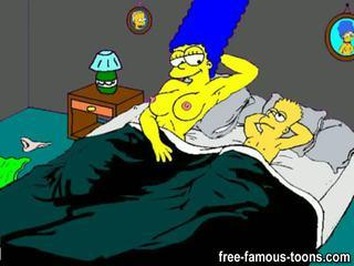 Bart simpson keluarga seks