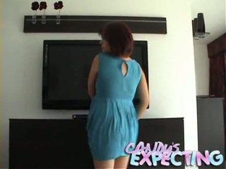 গর্ভবতী কিশোর has undressed