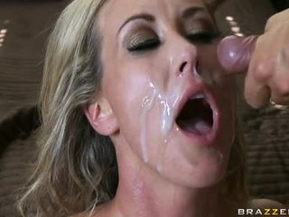 BRAndi Love Fuck Hard And Rub Ramrod By Her Feet