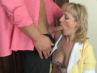 Mom gives ass.