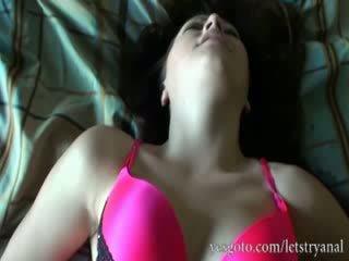 Amateur alisa ford eerste tijd anaal tryout