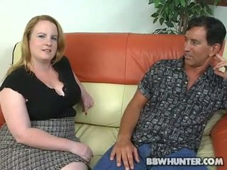 אבוני guy fucks שמן נערה