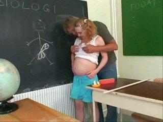 Embarazada adolescente joder