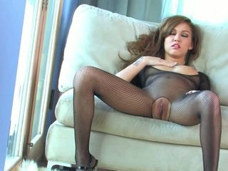 Kimberly Kato in pantyhose