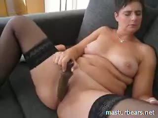 brunette, toys, masturbation