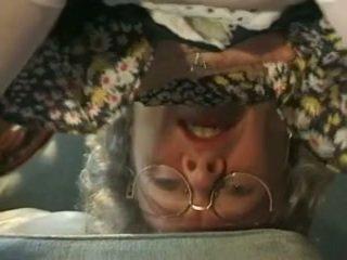 射精, おばあちゃん, 成熟する, 古い+ヤング