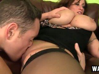 Incredibly velika prsi na the seksi puma prasica eva notty