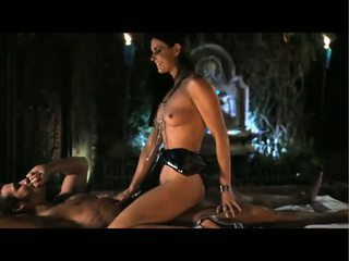 Erotic Black Haired Girl Rewards Her M...