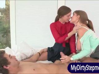 Uly emjekli ýaşy ýeten eje darla crane shares sik with maddy oreilly