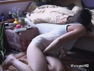 Sister apanhada masturbação