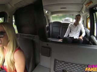 Femalefaketaxi Tourist Introduced to Taxi Tradition.