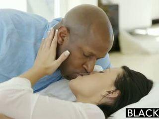 Blacked ado beauty tries interracial anal sexe