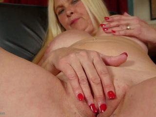 Old Blond Whore Dreaming of Young Boy, HD Porn 06