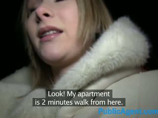 Publicagent owadan blondinka fucks big sik in otel room