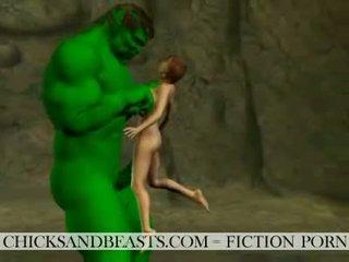 Извънземни шибаняци. 3d sci-fi секс stories