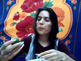 Uzun doğal nails: uzun nails porn video b9