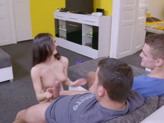 new brunettes porn, best threesomes clip, fun anal thumbnail