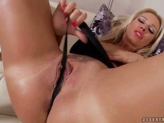 orgasm värske, lõbu kliitori, reaalne masturbating