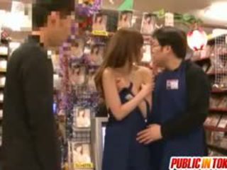 Yuu Asakura Is Fucked At Shop In Public